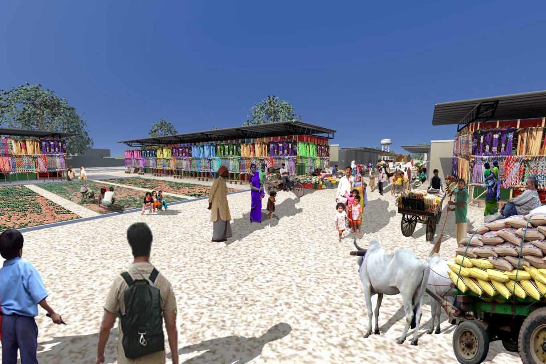 Agra Slum Upgrading Masterplan Architecture Innovation