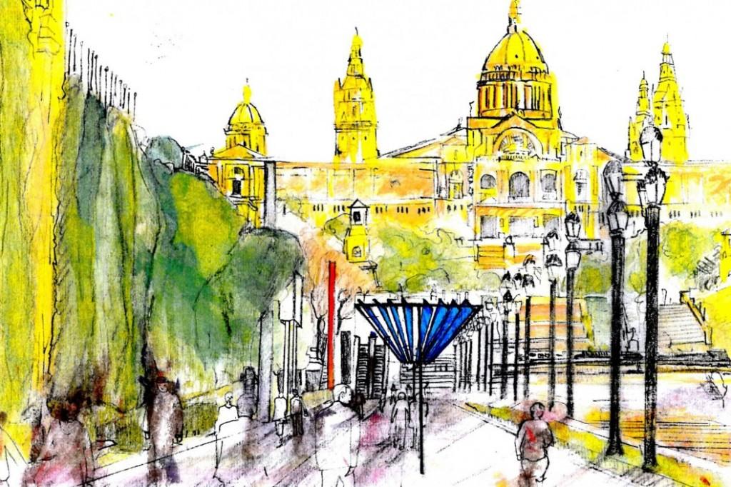 Plaza Espanya, Barcelona-2