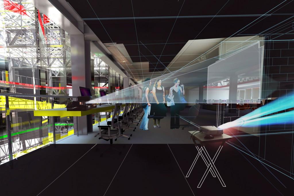 Art Gallery Interiors Installation Cardiff Architects Jersey Arts Centre
