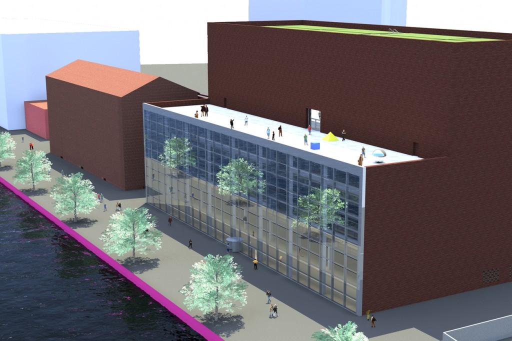 Maashaven Rotterdam Museum Depot Architecture