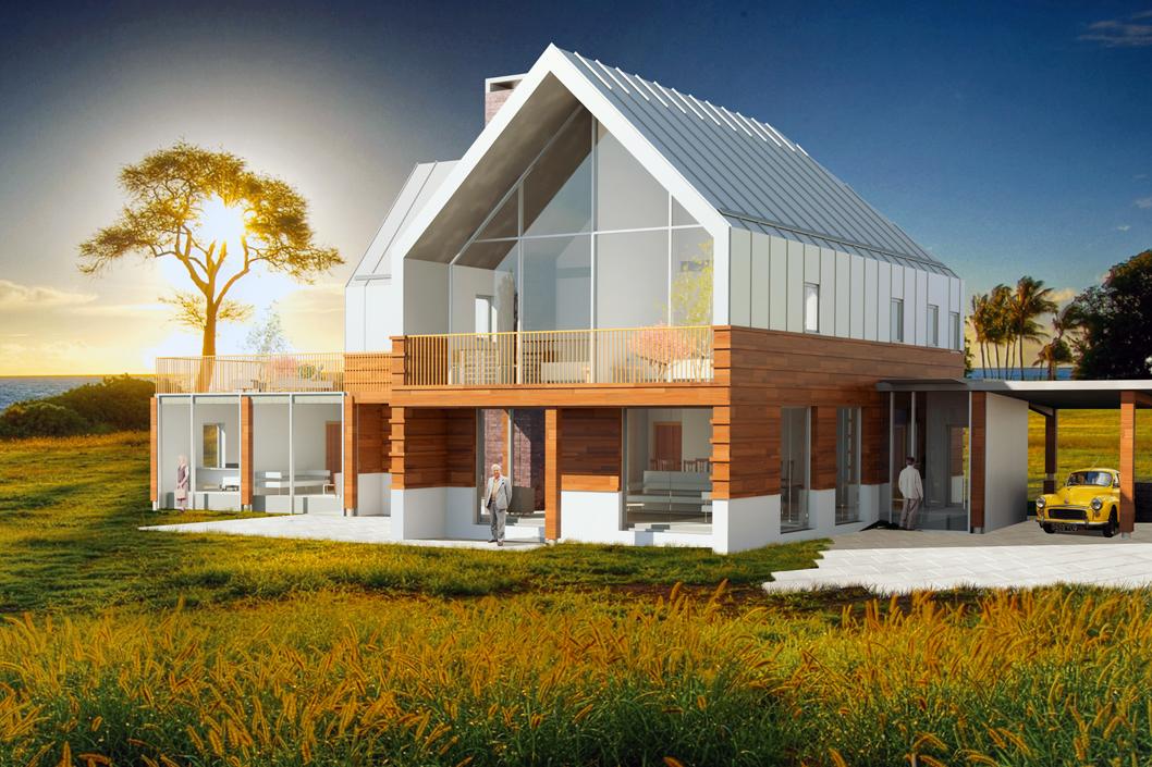 CONTEMPORARY FARM HOUSE NICK SOCRATES Architecture