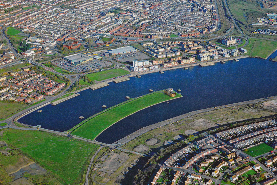 Aerial-740-Barry-Water-Sports-Activity-Centre-Barry-Quary-Marina-Developments-Cardiff