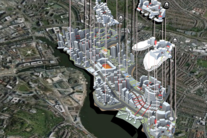 Utopian Masterplan Bristol