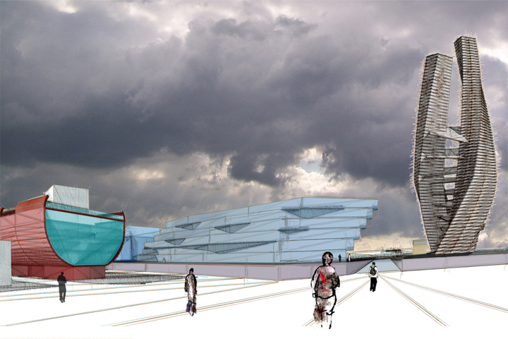 Whapping Wharf Bristol Architects Masterplan