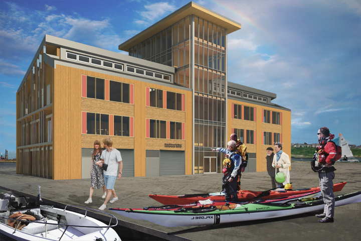 6 - 240-360 - Barry Water Sports Activity Centre - Barry Quary Marina Developments - cardiff