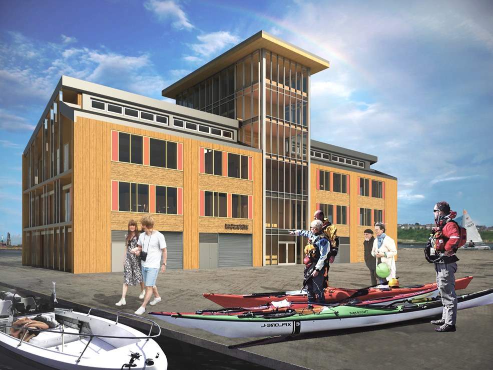 Barry Water Sports Activity Centre - Barry Quary Marina Developments - cardiff