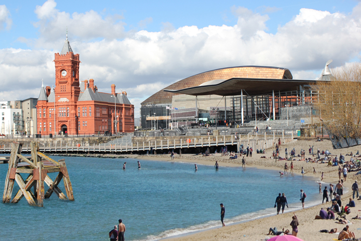 CARDIFF BAY BEACH - Architects Cardiff