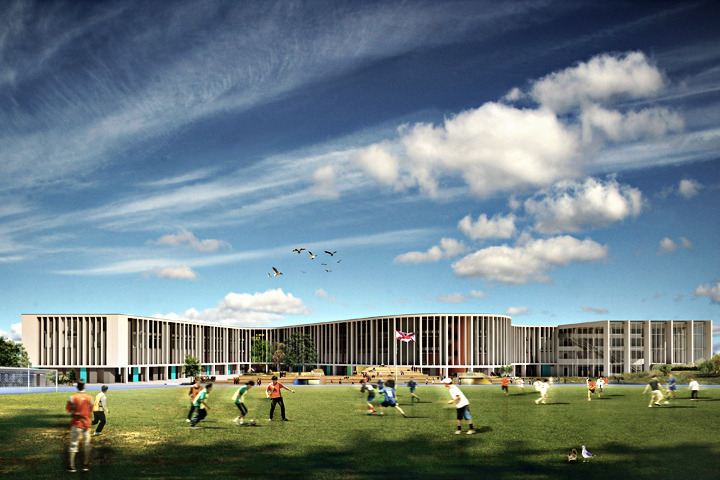 Les Quennevais Secondary School - Jersey Architects