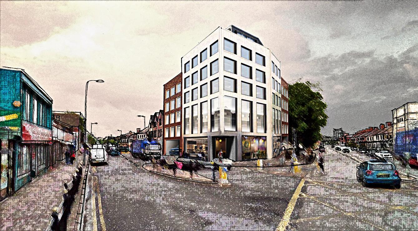 Grangetown Cardiff Mixed Use Cardiff Architects Design